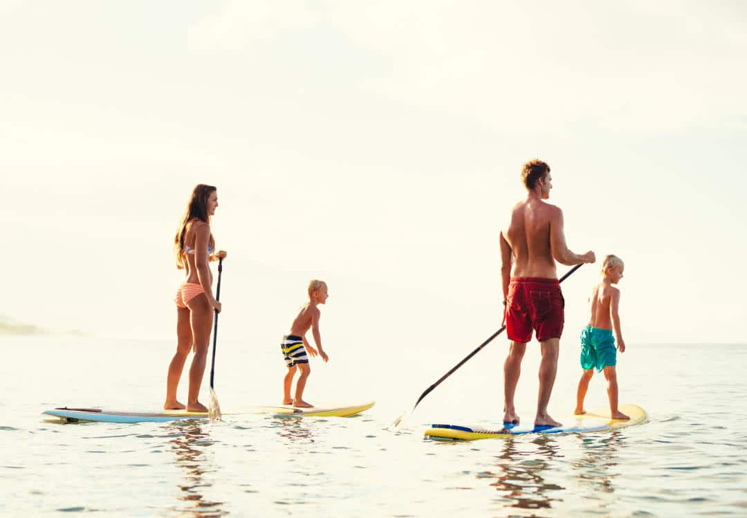 Best Paddle Board Activities With Family